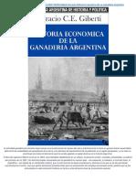 Giberti - Historia económica de la ganadería argentina cap6 y cap7