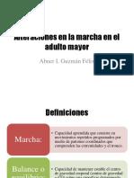 Alteraciones en La Marcha en El Adulto Mayor