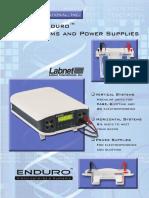 Enduro Electrophoresis Brochure