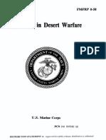 FMFRP 0-58 Problems in Desert Warfare