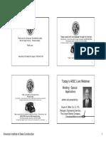 Welding Special Applications Handout