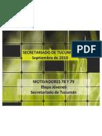 Palestra Tucuman - PM 78 y 79 - Sept2010