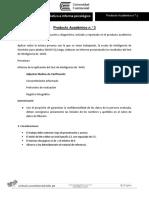 Producto Académico N 3 Evaluacion Diagnostico Spicologico Wais