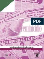 Analisis y Estudio Del Feminicidio en 8 Paises