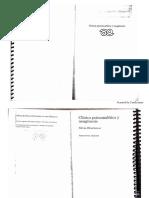 Clínica Psicoanalítica y Neogénesis.