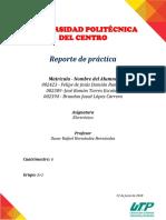 Reporte de Practica Diodos