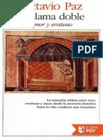 La Llama Doble - Octavio Paz