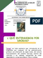 DROGAS-PRESENTACION