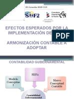 Efectos Esperados Por La Implantacion Del Siif2. Panel 4
