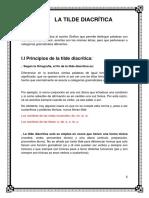 La Tilde Diacrítica Imprimir