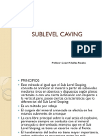 Sublevel Caving