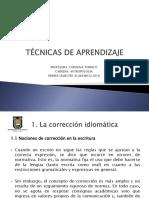 TÉCNICAS DE APRENDIZAJE II