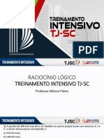 Márcio Flávio - Raciocínio Lógico Treinamento Intensivo TJ-SC