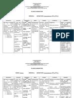 Plan de Asignatura Matematicas 10 y 11