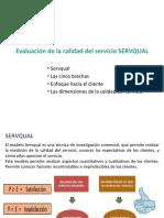 Herramientas de Calidad- Evaluacón de La Calidad Del Servicio-SERVQUAL