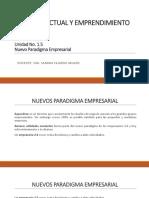 Unidad 1. 5 Nuevo Paradigma Empresarial2
