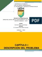 Diapositivas Marketing Digital para el Posicionamiento de los restaurantes de la ciudad de Huánuco - 2018.