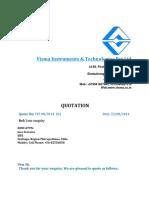 Quote for  Process calibrator Calibrator.pdf