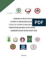 Pedoman Penyusunan Panduan Praktik Klinis Dan Clinical Pathway Dalam Asuhan Terintegrasi Sesuai Standar Akreditasi Rumah Sakit 2012 60