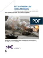 Outsourcing war How foreigners and mercenaries power UAE's military.docx
