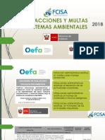 Infracciones y Multas Por Temas Ambientales 2018