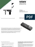 E170E2 IQ Mk2 Installation Maintenance Instructions 01-05