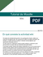 Tutorial Herramienta Wiki en Moodle (1)