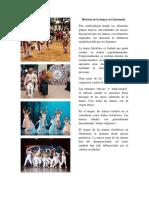 Historia de La Danza en Guatemala