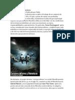 Existencialismo y Literatura