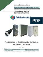 (Ie-o.4.3.32-A) - Procedimiento de Repotenciacion Contenedor Red Flexible y Red Rigida
