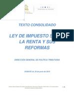Texto Consolidado Ley Impuesto Sobre La Renta 25JUNIO2018