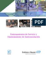Catalogo de Entrenamientos E+H 2015