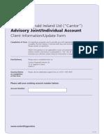 Client Update Form