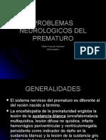 Problemas Neurologicos Del Prematuro