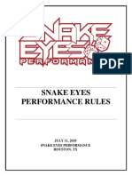snakes eyes rules  revised