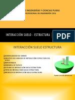 Interacción Suelo - Estructura