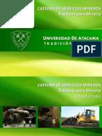 (1) SERV. MIN. - Tractores