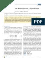 2011 Kapil Kinetic Modeling Studies of Heterogeneously Catalyzed Biodiesel Synthesis Reactions