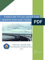 Panduan Tugas Akhir Politeknik Negeri Kupang Tahun 2017