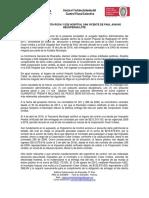 Comunicado de Prensa n 8