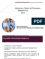 Sosialisasi Program Permata 2018 (Revisi)
