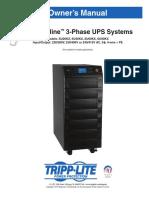 Tripp Lite Owners Manual 753945
