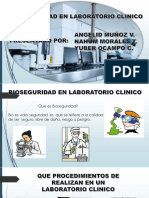 Bioseguridad en Laboratorio