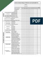 Plano de Manutenção DDQ 8331