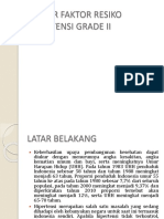 FAKTOR FAKTOR RESIKO HIPERTENSI GRADE II.pptx
