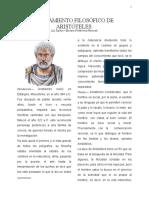 Ensayo Aristóteles