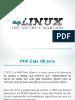 Slides Acessando Bancos de Dados Com PDO
