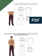 Pakaian Seragam Harian Pramuka Penegak Dan Pramuka Pandega Putra