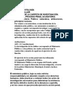 Antología.taller Carpeta de Investigación