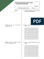 Examen de Geometria 1 a Argos College